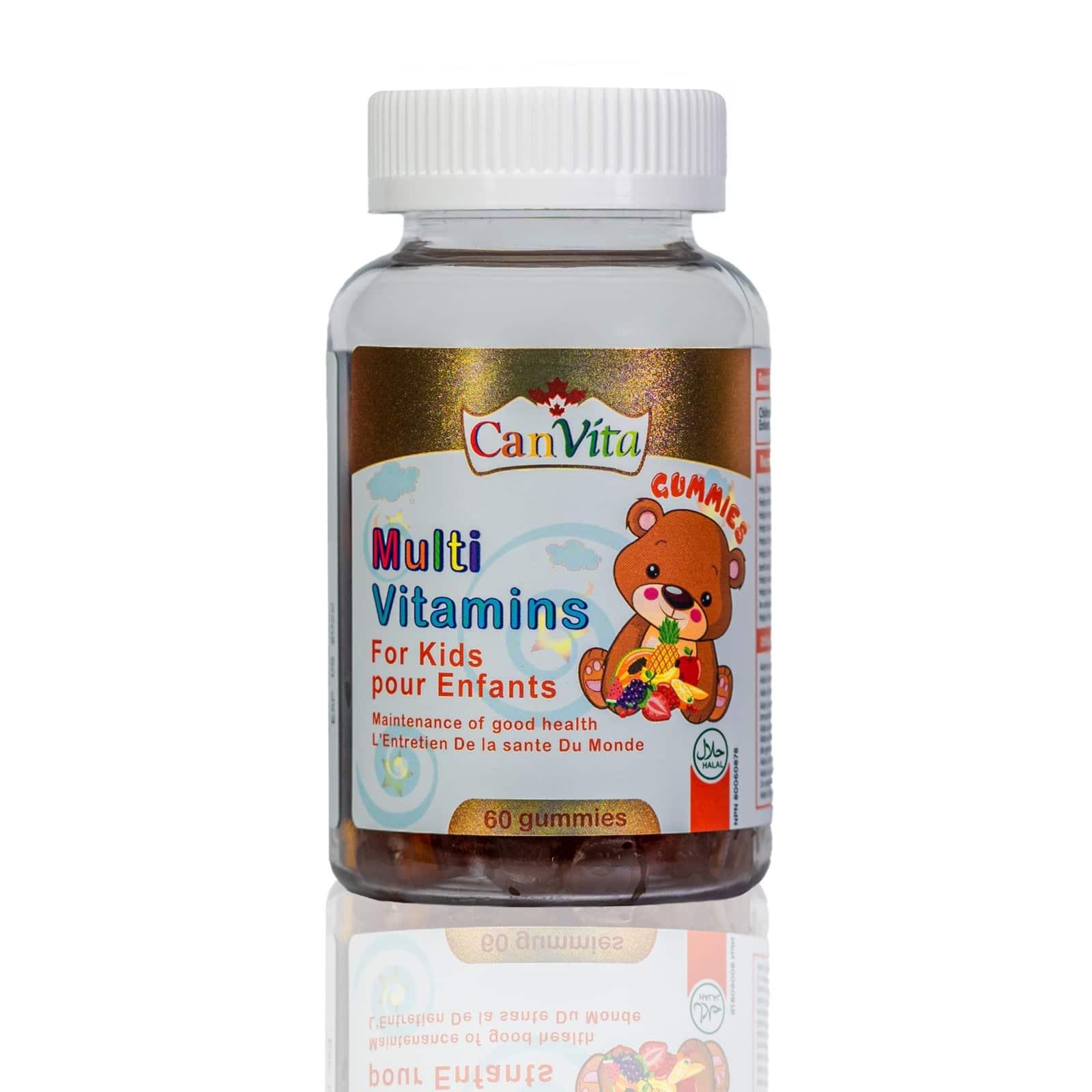 Canvita Kids multivitamin gummy