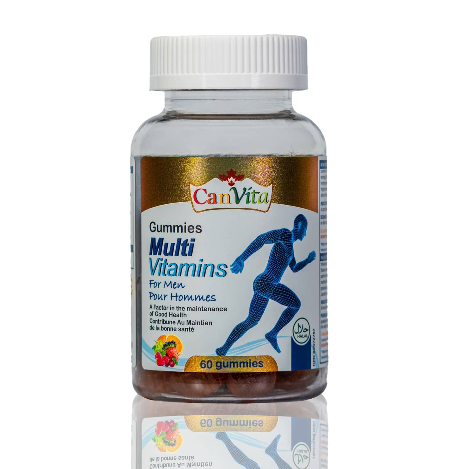 Canvita Men's multivitamin gummy