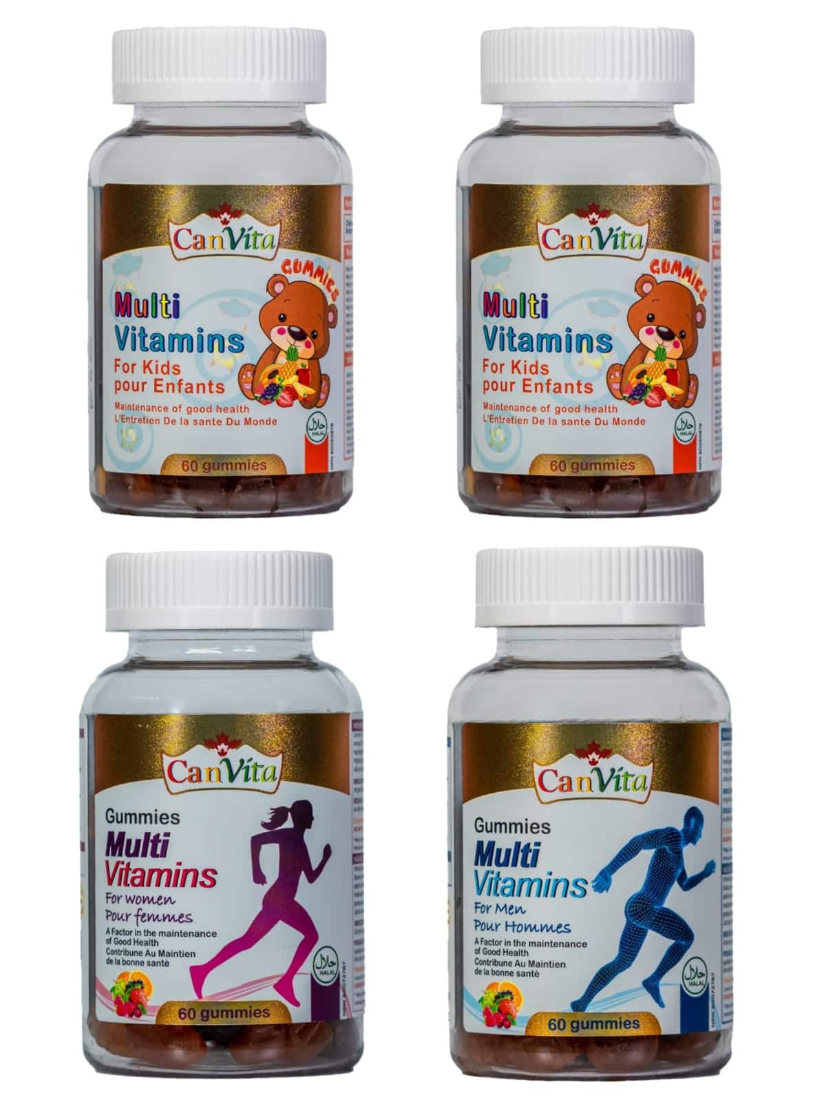 Canvita Vitamins Bundle Pack